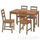 طاولة طعام من ايكيا