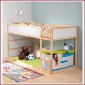 سرير طابقين من ايكيا وخزانة