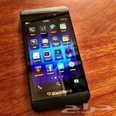 blackberry z10  جديد ونظيف
