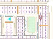 ارض للبيع في حفر الباطن حي قرطبه (دله 85ح)