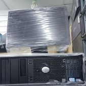 كمبيوترات مكتبيه بسعر 400 ريال مضمونه ونظيفه