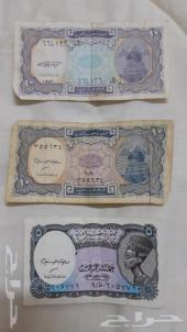 عملات قديمة مصرية عام 1940م وماليزيا