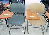 كرسي محاضرات فيبر و قماش جوده عالية