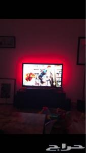 اضاءات ديكور خلف التلفاز