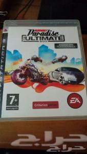 لعبة Burnout Paradise PS3 بحالة ممتازة جدا