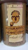 قهوة محمد افندي التركية سعر الكرتون 210 ريال