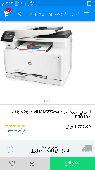 طابعة HP Color Laserjet PRO MFPM277 شبه جديد
