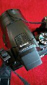 كاميرا نيكون زووم مع كامل ملحقاتها للبيع