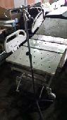 سرير طبي كهرباء 5 حركات مع مرتبة طبية  مغذية