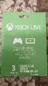 لا يفوتك أشتراك Xbox live 3 شهور جديد