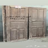 أبواب و كراسي تراثيه انتيك من توراث البحرين