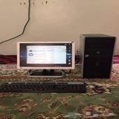 كمبيوتر مكتبي hp مستخدم نظيف