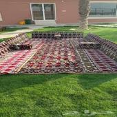 منتجع عاصم مساحته 5000 للعيد