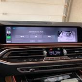 اضافة ابل كاربلي لسيارات بي ام Apple CarPlay BMW MINI