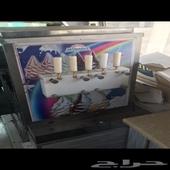 سيارة ايسكريم مع العامل مؤجرة مرخصة