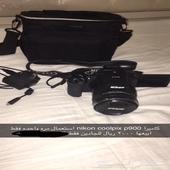كاميرا coolpix p900 استعمال مره وحده فقط