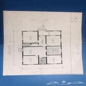بيت شعبي على ثلاث شوارع مساحته 480 م مكون من اربع غرف