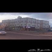 عمارة شقق في مدينة نجران - حي الضباط (بناء وتشطيب على الذمة)