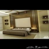 غرف نوم للفنادق والشقق المفروشة استقبال مستشفيات ممرات