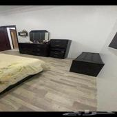 غرفة نوم ماليزي 7قطع اللون بني بدون المرتبة النعيرية