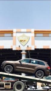 جراند شيروكي - تريل هوك - 2018 - سعودي - V8