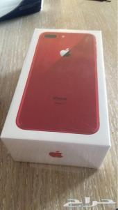 ايفون 8 بلس احمر 64 جيجا