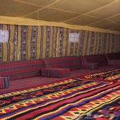مخيم شبابي للايجار اليومي او الاسبوعي (مكان نظيف)