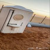 مخيم للايجار بالمشاعلة بعد كوبري المزاحميه