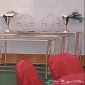طاولات مدخل   ستاند اسم   طاولات استقبال