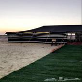 مخيم للايجار قسمين احجز من بدري مخيم ملكي