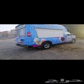 مشروع للبيع سيارة ايس كريم نظيفه