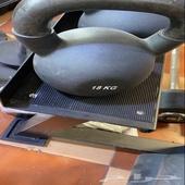 اجهزة رياضية معدات رياضية تجهيز اندية اثقال اوزان دنابل با