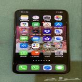 جوال ايفون اكس ماكس 10 استجدامي بطاريه91القيقه256