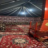 مخيم التوباد للايجار