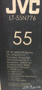 شاشة JVC 55 بوصة سمارت منحية