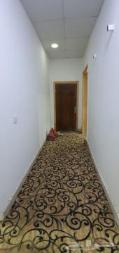 غرفتين مؤثثة ومطبخ ودورتين مياة   بدون حوش