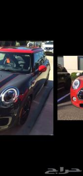 Mini Cooper LED headlights شمعات
