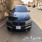 BMW 740 M KIT 2016 ضمان نظيفه