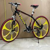 دراجة هجين ودراجات جبلية