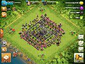 للبيع لعبة clash of clans