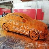 رغوة ثلجية كرستالية لغسيل السيارات