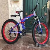 دراجات كفر عريض ألمنيوم قابلة للتطبيق