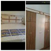 غرف نوم جديده بأسعار مخفضة سعر الغرفه 1800