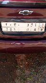 لوحة سيارة للبيع علي السوم