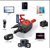 محول كهرباء من 12 إلى 220 فولت في السيارة