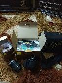 للبيع اوالبدل كاميرا نيكون d3100 مثل الجديدة