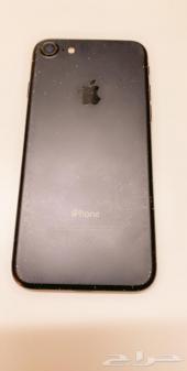 للبيع ايفون 7 اسود ذاكرة 128