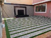 تنسيق حدائق وتركيب العشب الصناعى وتصميم الشلا