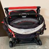 عربة اطفال لطفلين