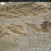 للبيع ارض 425متر في ت6 العزيزيه شارع 84م ب570الف